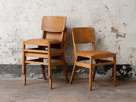 View our  Vintage Ben Chairs (per pair) from the  Old Chairs, Stools & Benches collection