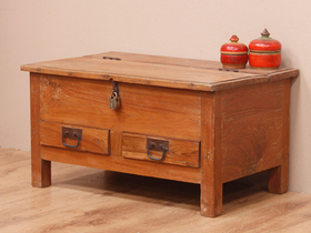 View our  Vintage Merchant's Chest from the  Old Wooden Chests, Trunks & Boxes collection