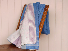 View our  Vintage Kantha Blanket from the  Soft Furnishings collection