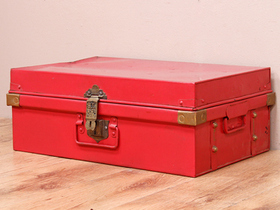 View our  Red Metal Case from the  Vintage Suitcases collection