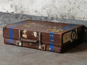 View our  Leather Suitcase By Revelation from the  For The Home collection