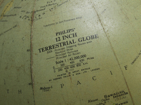 Vintage Globe By George Philip And Son Thumbnail