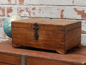 View our  Wooden Storage Chest from the  For The Home collection