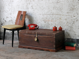 View our  Blanket Box from the  Old Wooden Chests, Trunks & Boxes collection