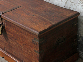 Large Wooden Chest Thumbnail