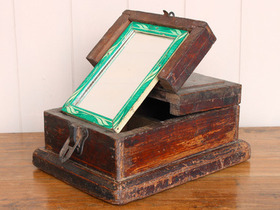 View our  Wooden Barber's Box from the  Old Wooden Chests, Trunks & Boxes collection