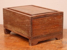 View our  Vintage Wooden Box from the  Old Wooden Chests, Trunks & Boxes collection