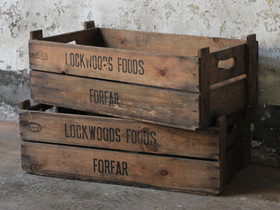Wooden Storage Crate Thumbnail