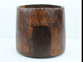 View our  Wooden Measuring Pot  from the  Vintage Wooden Pots collection