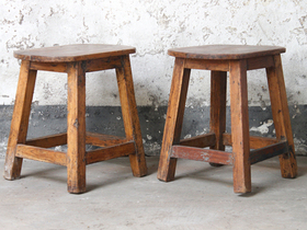 View our  Breakfast Bar Stool from the  Old Chairs, Stools & Benches collection