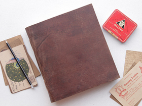 View our  XXL Leather Notebook  from the  Journals collection