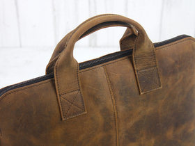 "Leather Laptop Bag 13"" Thumbnail"