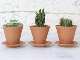 Tapered Terracotta Plant Pot - Small Thumbnail