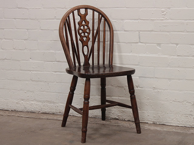 Ercol Style Elm Dining Chairs Set Of 4 Sold Scaramanga