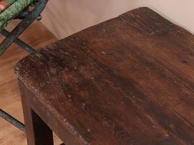 Vintage Wooden Bench Table Thumbnail