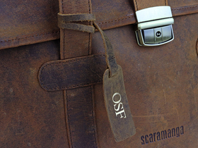 The Carter Leather Briefcase Thumbnail