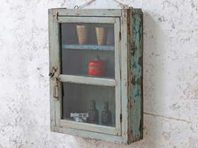 Pale Blue Wall Cabinet Thumbnail