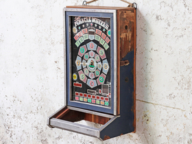 Upcycled Vintage Game-Machine Cabinet Thumbnail