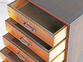 Vintage Japanese Chest of Drawers Thumbnail
