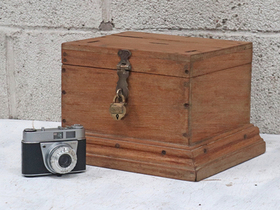 Wooden Jewellery Box Thumbnail