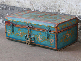 Vintage Painted Trunk Thumbnail