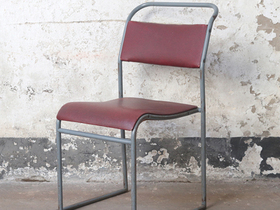 Vintage Stacking Chair By PEL Thumbnail