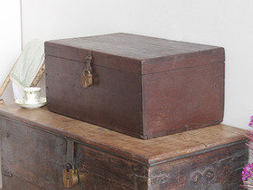 View our  Vintage Teak Chest WOCS80268 from the  Old Wooden Chests, Trunks & Boxes collection