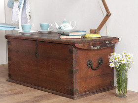 View our  Wooden Storage Chest from the  Old Wooden Chests, Trunks & Boxes collection