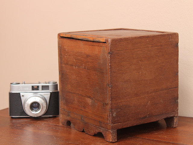 View our  Vintage Teak Box from the  Old Wooden Chests, Trunks & Boxes collection
