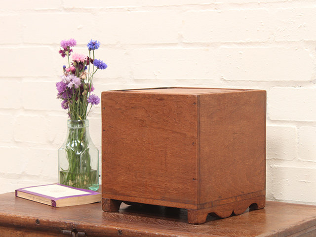 View our  Vintage Cube Box from the  Old Wooden Chests, Trunks & Boxes collection