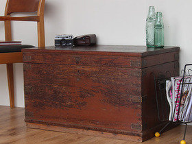 View our  Old Teak Chest WOCS80701 from the  Old Wooden Chests, Trunks & Boxes collection
