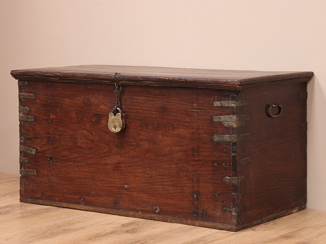View our  Storage Trunk from the  Old Wooden Chests, Trunks & Boxes collection