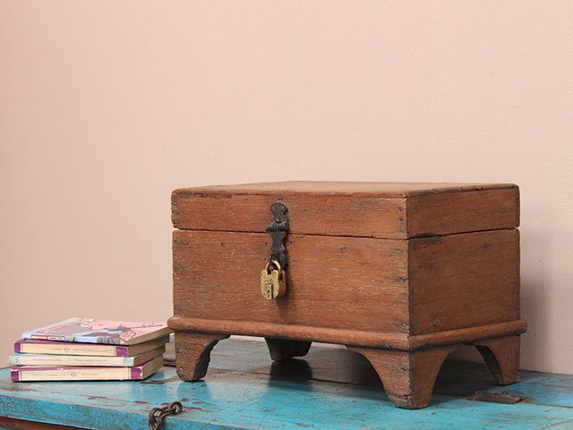 View our  Storage Box from the  Old Wooden Chests, Trunks & Boxes collection