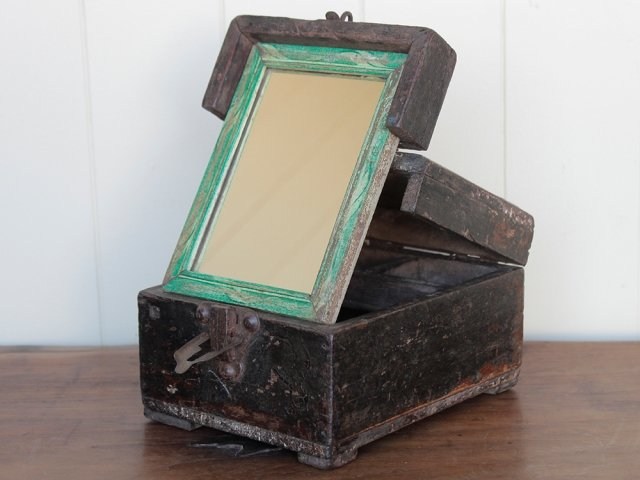 View our  Antique Barber's Shaving Box from the   collection