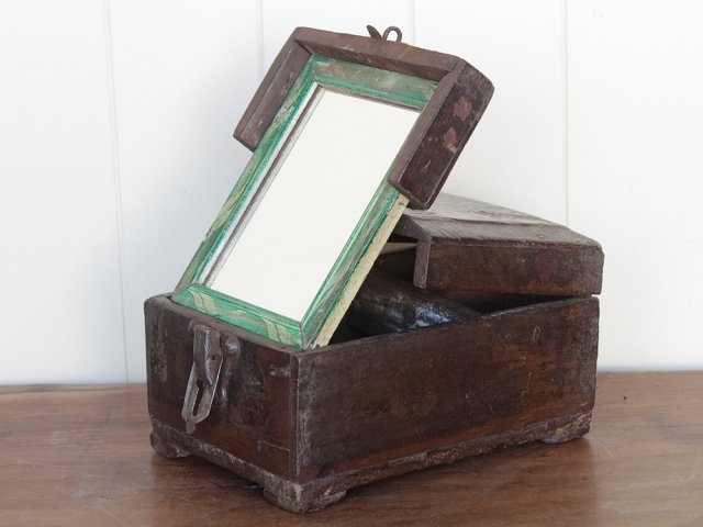 View our  Traditional Barber's Shaving Box from the  Old Wooden Chests, Trunks & Boxes collection