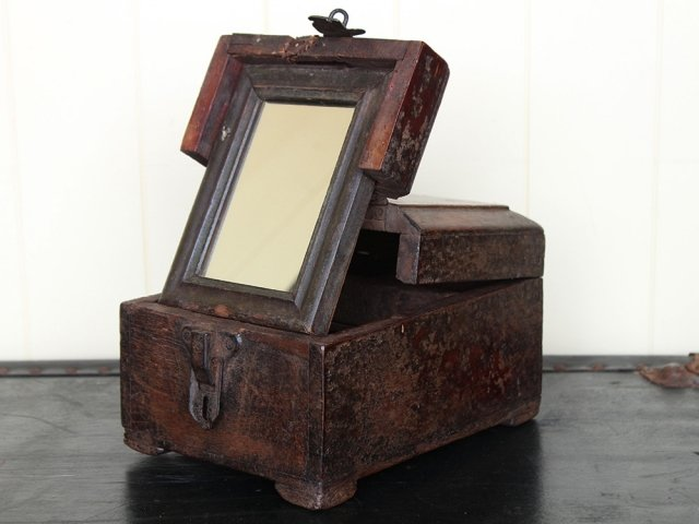 View our  Old Folding Barber Box from the   collection