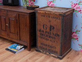 Vintage Wooden Chocolate Packing Crate 1000 Thumbnail