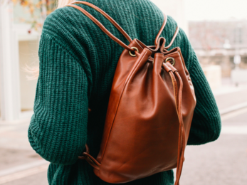 /Freya Leather Backpack