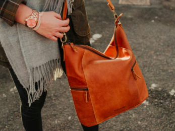 /Leather Hobo Bag