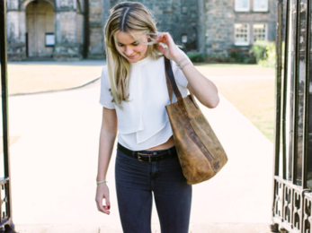 /The Britt Tote Bag