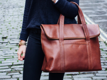 /The LouLou Leather Tote