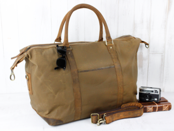 /Canvas Holdall