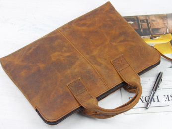 /Leather Laptop Bag 13''