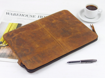 /Leather Laptop Case