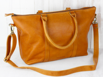 /Leather Tote Bag